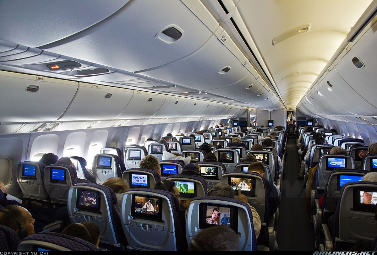 Výsledek obrázku pro united airlines interior b767