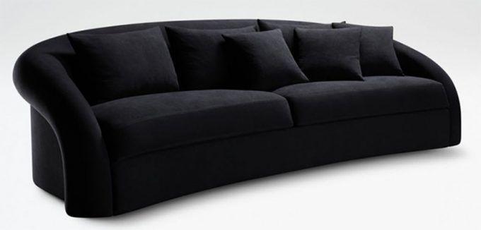 Wohnzimmer Trends 2017: Samt Sofas