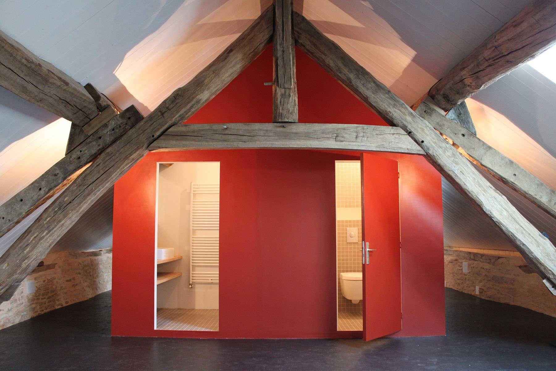 8A Architecten   Verbouwing en renovatie vakantiehuis, Bourgogne (Frankrijk)