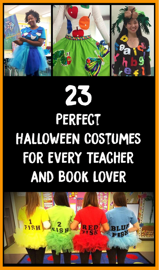 23 Perfect Halloween Costumes For Every Teacher & Book Lover ...