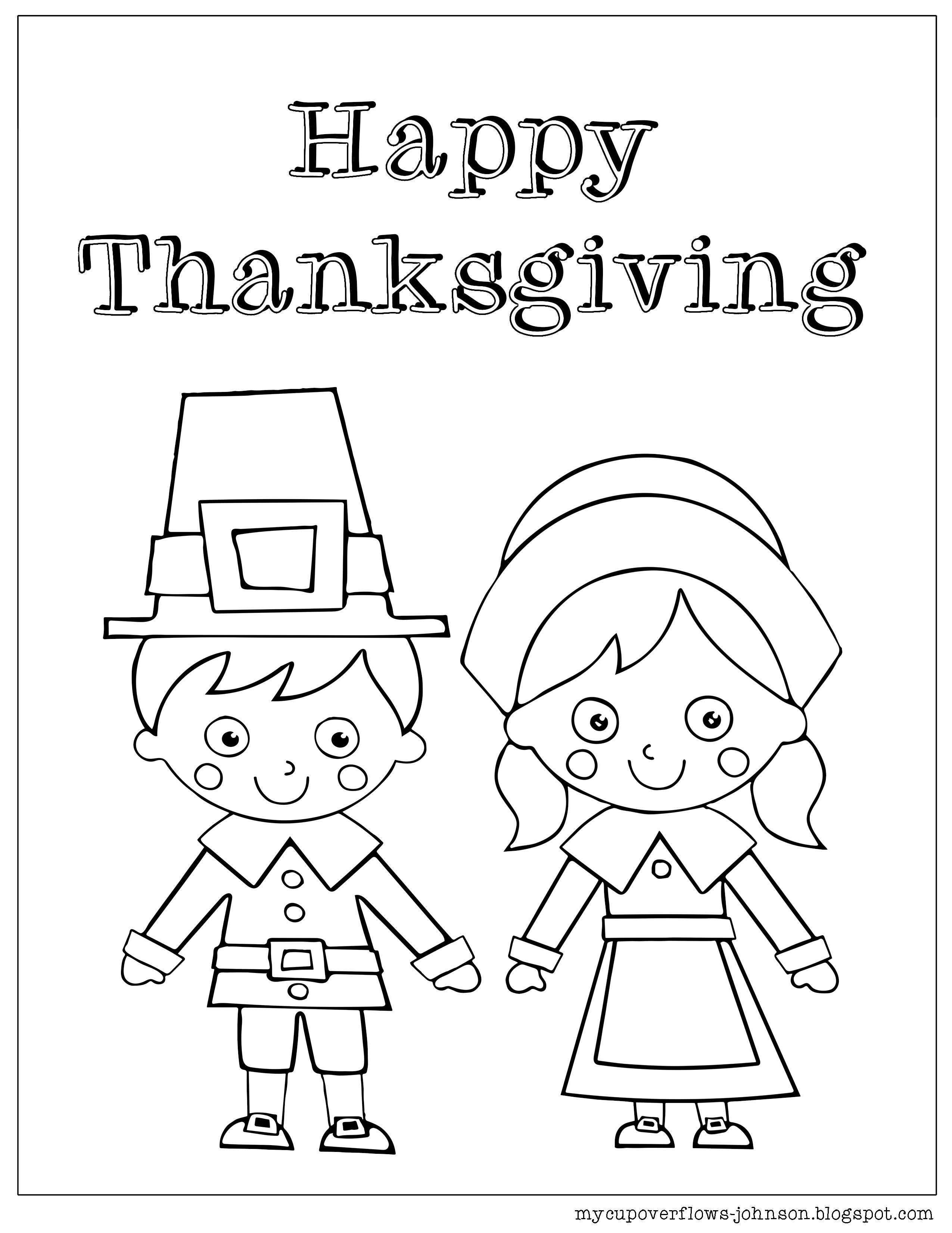 Pilgrim Coloring Pages For Preschool