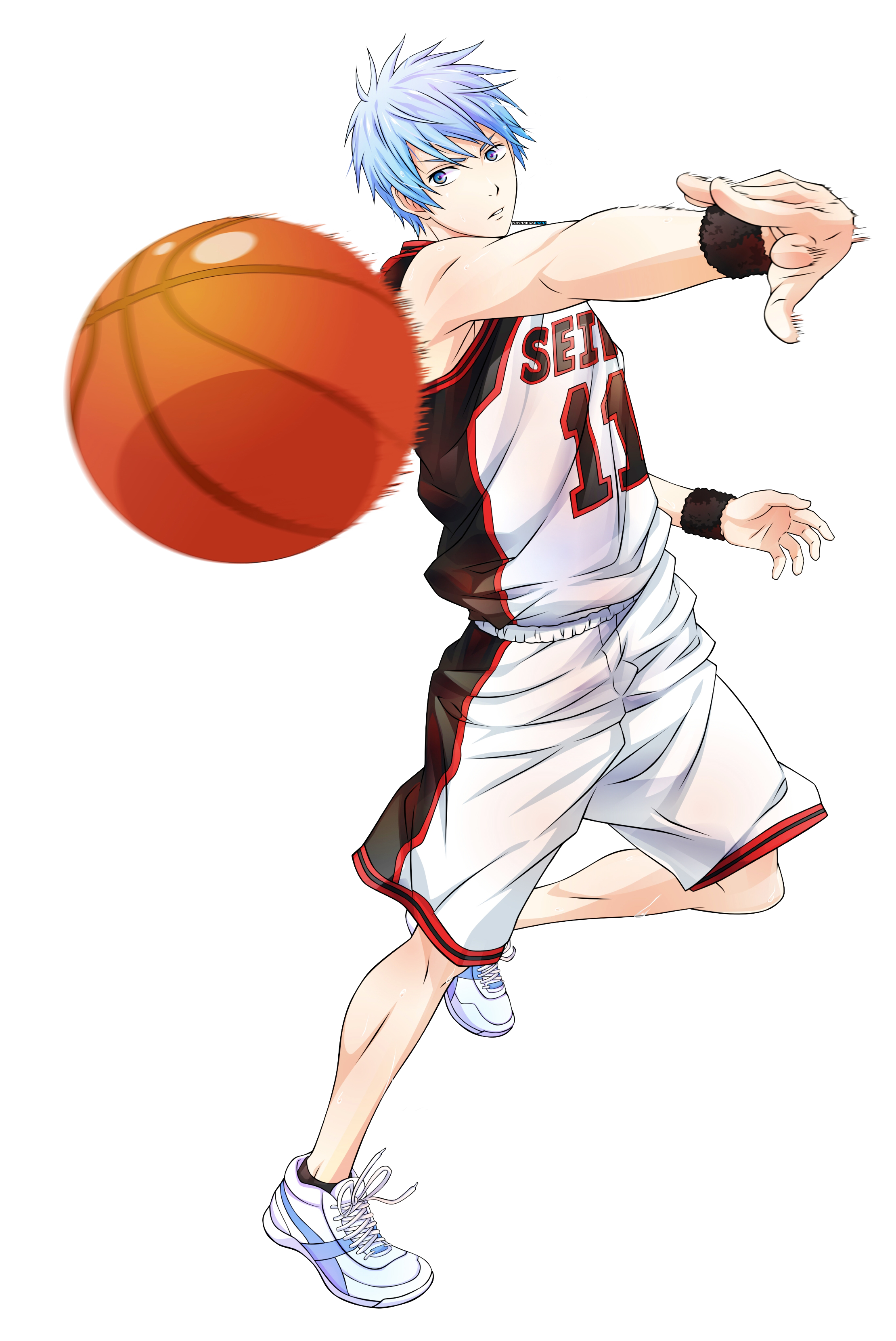Render Kuroko no Basket by XxAjisaiGraphicxX on