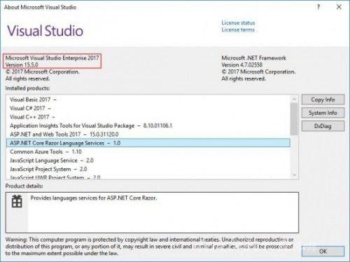 Microsoft Visual Studio 2017 Enterprise / Professional
