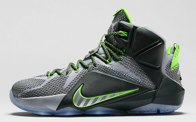 01772627a9dc ... hot the nike lebron 12 dunk force releases next week boasting grey  build action graphics and