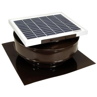 Suncourt Flush Fit Register Booster Fan In Brown Hc500 B Solar Powered Attic Fan Roof Exhaust Fan Attic Fan