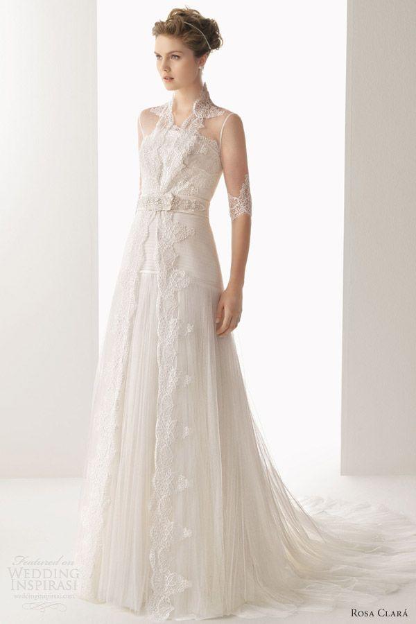 c7ae6d4a168f2 soft by rosa clara 2014 uranio lace wedding dress sleeve bridal coat