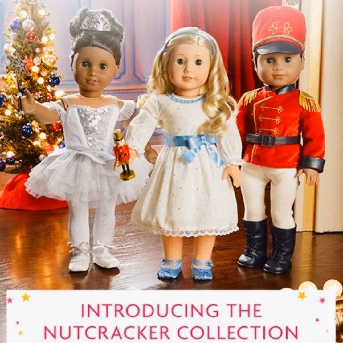 AMERICAN GIRL SNOW SOFT /& SPARKLY OUTFIT SNOW FANCY COLLECTION HOLIDAY PARTY NIB