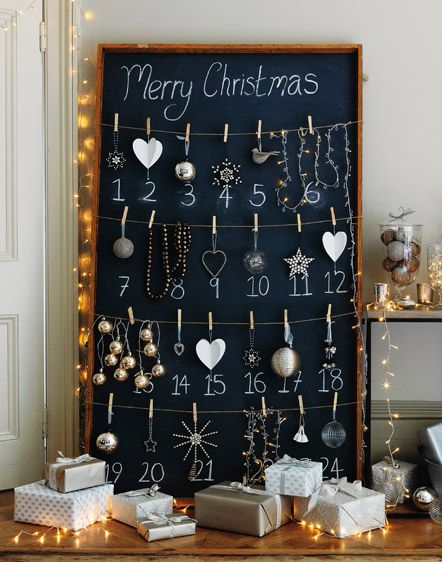 Christmas decorations (and lovely styling) from The White Company (thewhitecompany.com).