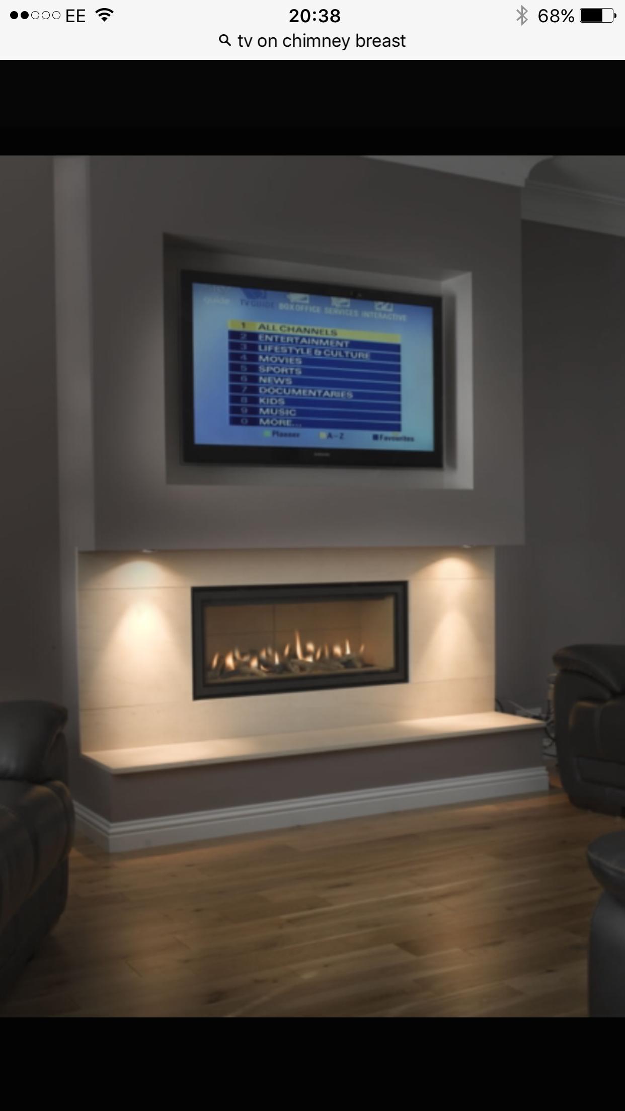 Family room ideas u Fireplaces in u