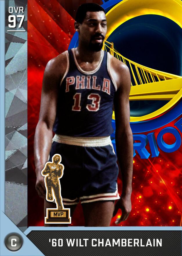 e8f98eab773  60 Wilt Chamberlain (97) MyTEAM Diamond Card Baloncesto
