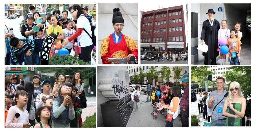 서울시에서 주최한 2013 스토리텔링을 통한 서울관광명소화 프로젝트가 한글을 주제로 광화문 광장 일대에서 진행되었다. 세종대로를 주변으로 한 한글관광자원을 연계하는 대표적인 스토리텔링 성공사례로 꼽히고 있다.