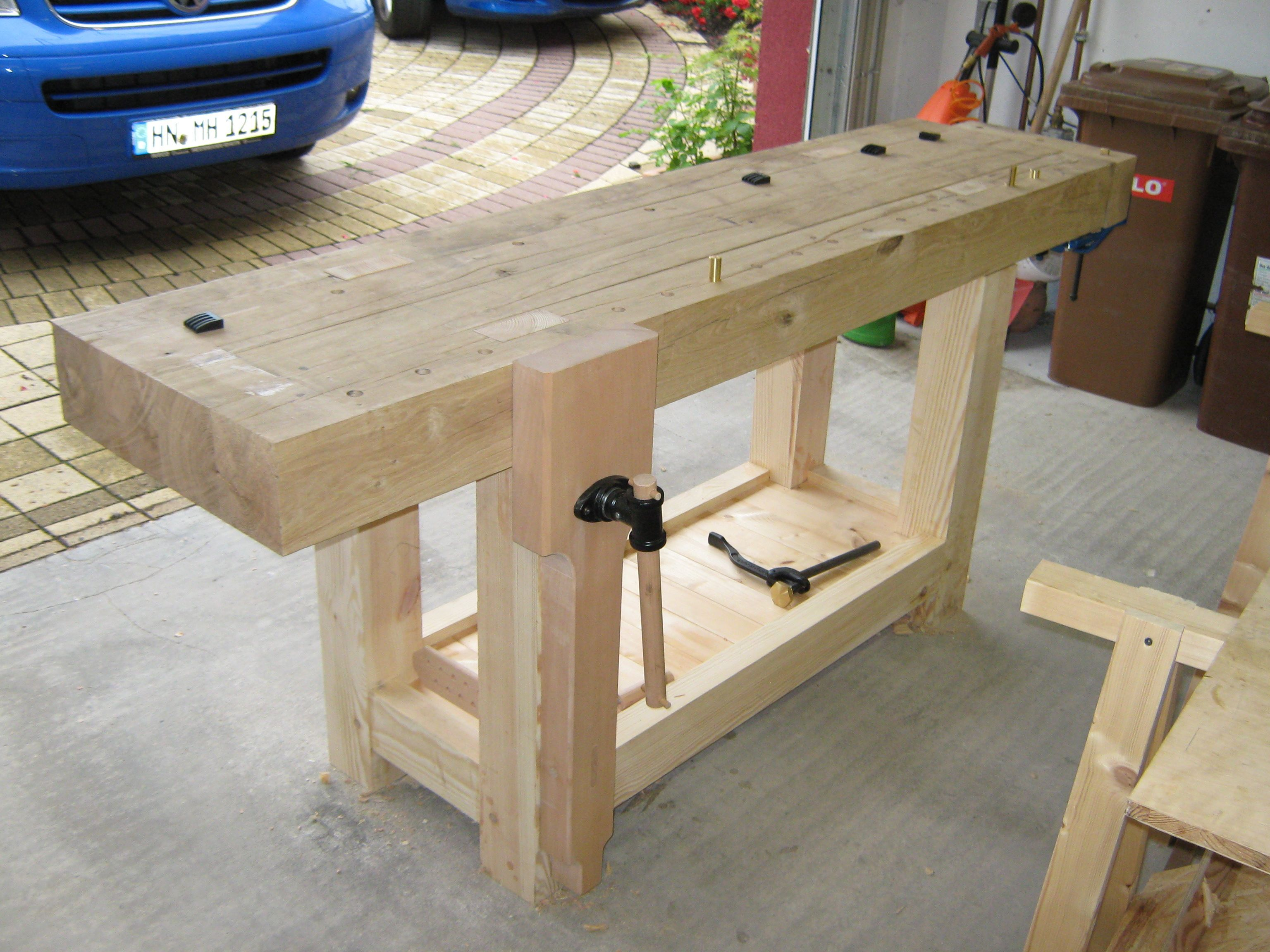 roubo workbench woodworking tools werkbank holz. Black Bedroom Furniture Sets. Home Design Ideas