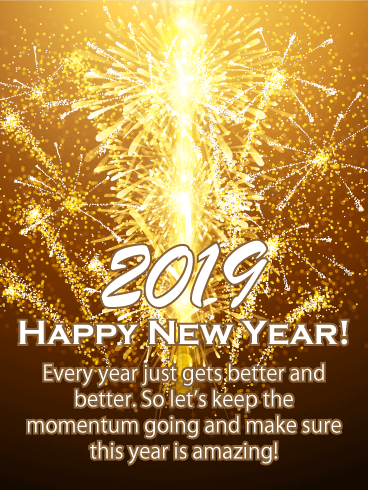 Birthday Greeting Cards By Davia Free Ecards Via Email And Facebook Happy New Year Quotes Happy New Happy New Year Greetings