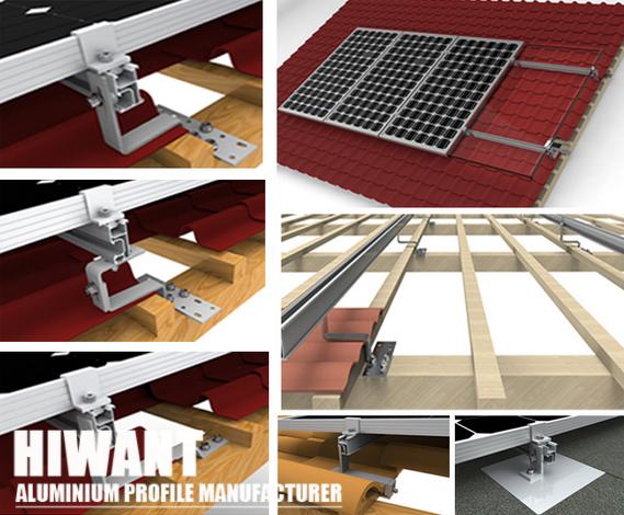 High Quality Customized Different Sizes Solar Alulminium Mounting Rail Solar Installation Solar Panels For Home Solar
