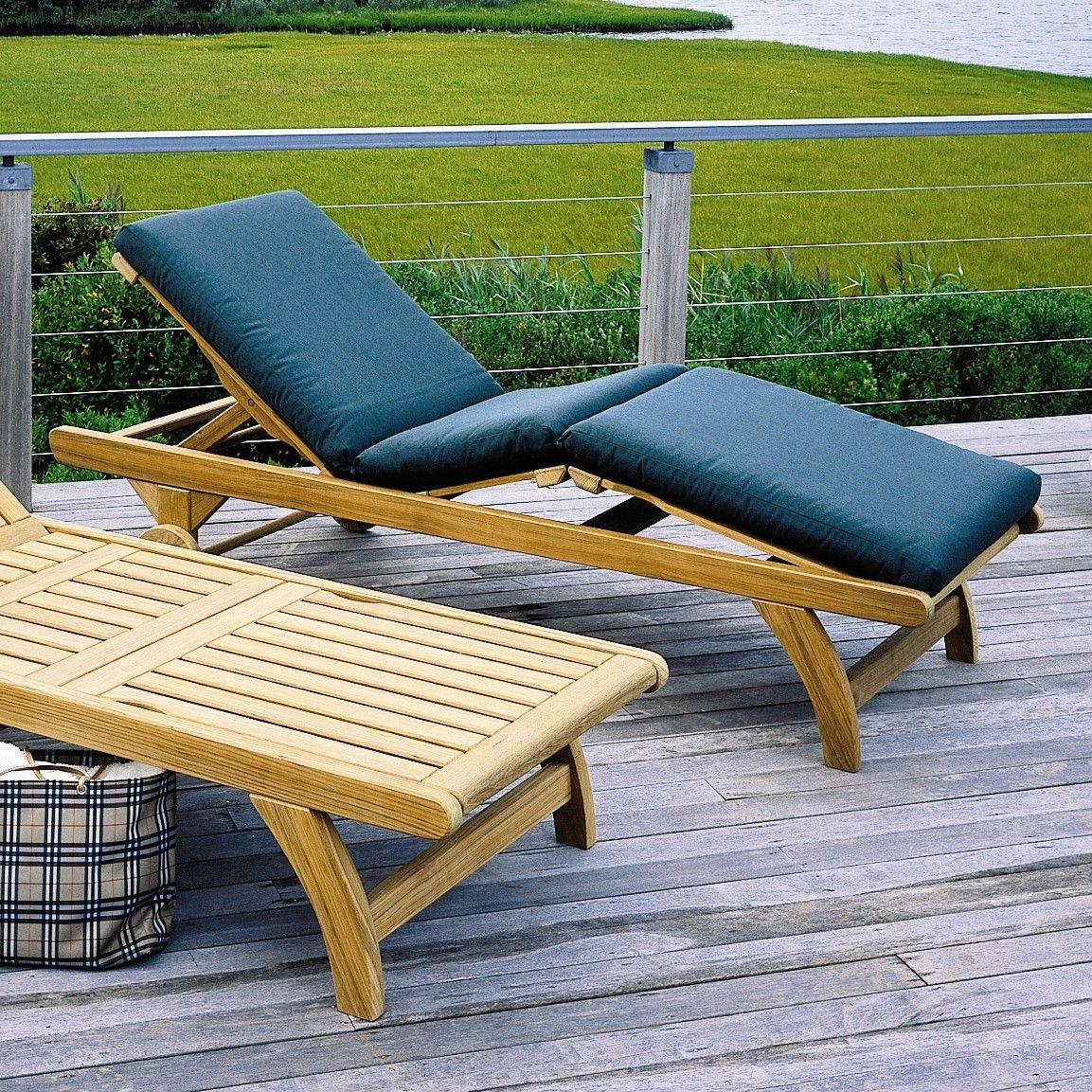 kingsley bate classic chaise cushion