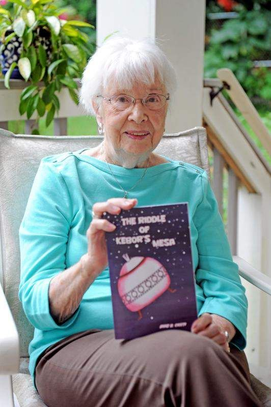 A new career at 93, Anne B. Ciotti pens science fiction novel