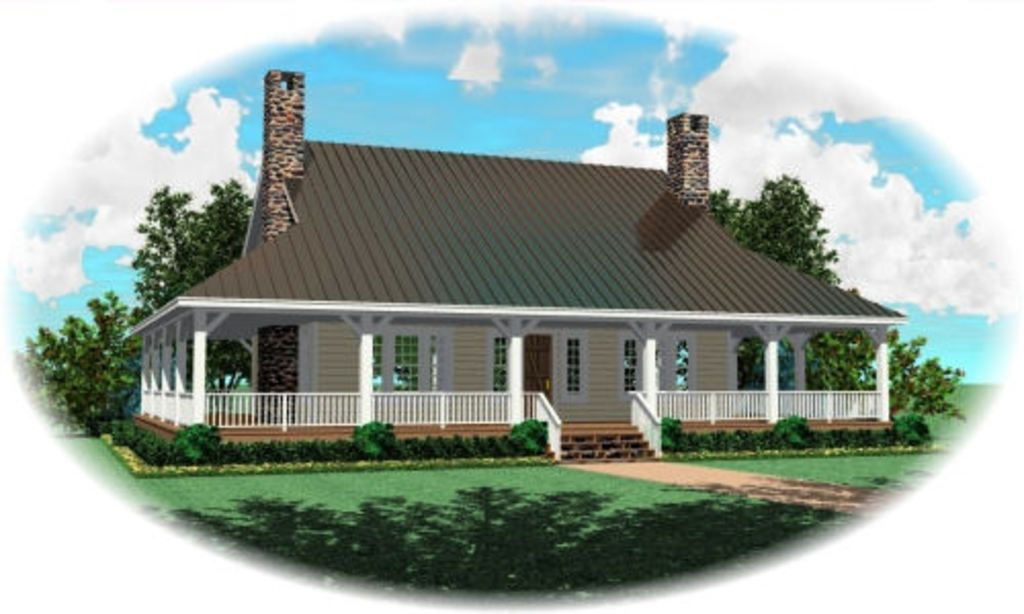 Plan 81-13876 - Houseplans.com | house | Pinterest | House, Cabin ...