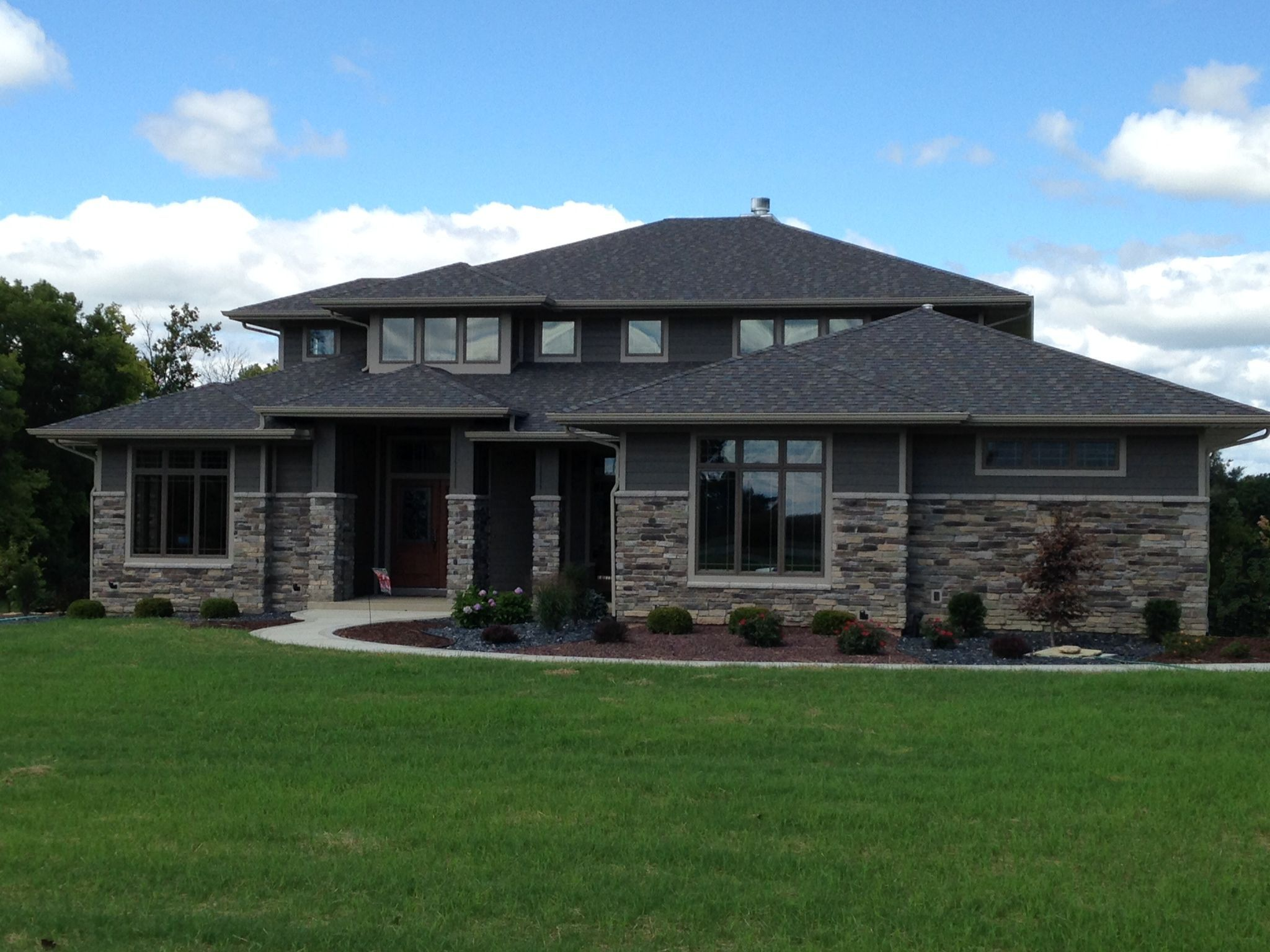 11 Awesome Modern Ranch Style Home Design Ideas Prairie Style Houses Home Styles Exterior Ranch House Exterior