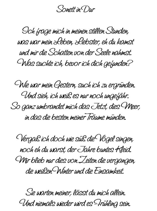 Gedicht von Mascha Kaleko