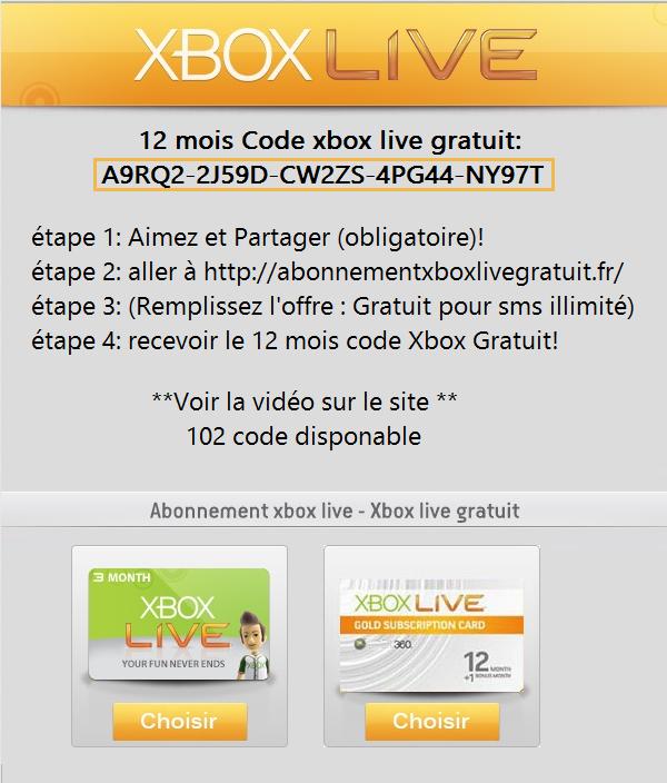 code live gratuit 12 mois   Gratuit, Sms
