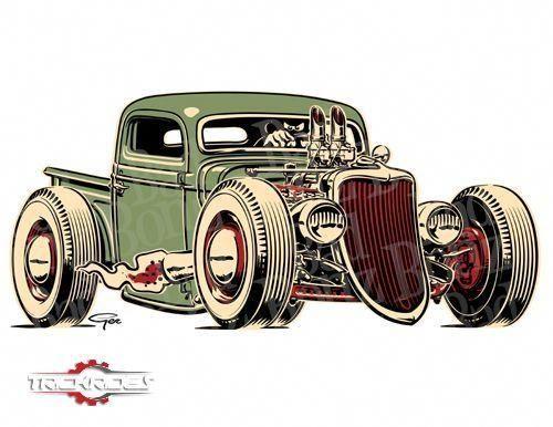 rat rod chevy trucks  - Rat rod trucks -