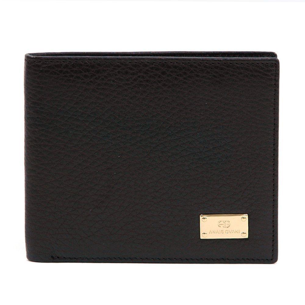 Men's Genuine Top Grain Italian Leather Wallet - Brown Color: Brown