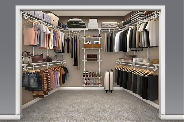 Wire Walk In Closet Ideas