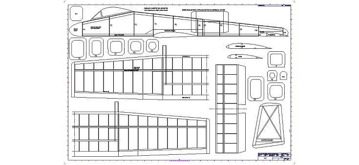 Dwg Adı : A 10 s 400 model uçak planı İndirme Linki : www