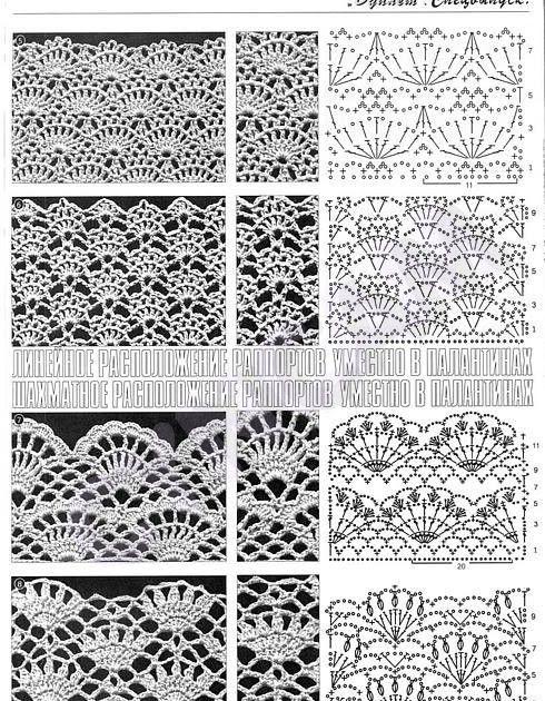 Crochet puntos calados | creaciones | Pinterest | Crochet, Crochet ...