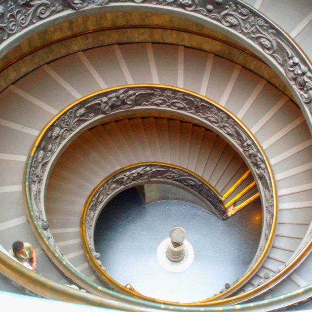 Best Amazing Staircase Out Of The Vatican Rome Italy Take 400 x 300