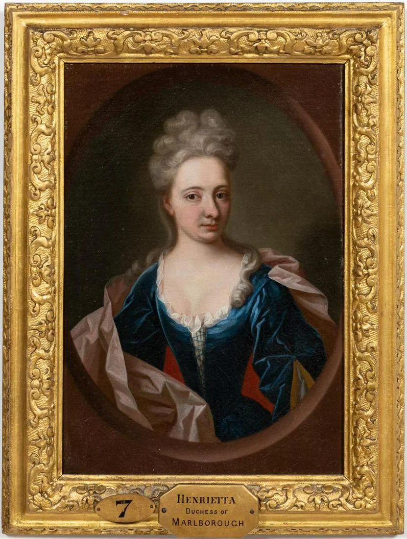 For Auction: HENRIETTA DUCHESS OF MARLBOROUGH, GILTWOOD FRAME (#0922) on Oct 25, 2020 | Ahlers & Ogletree Auction Gallery in GA