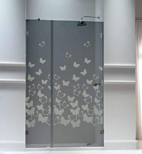 Resultado de imagen para puertas en acr licos para ba os for Mamparas de vidrio templado para banos
