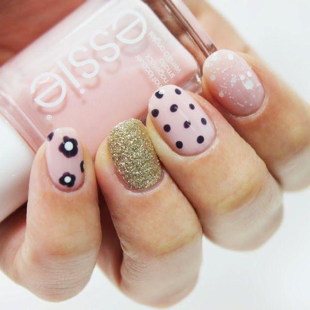 manicuras-faciles-unas-decoradas-03.jpg (640×640) | alespa | Pinterest