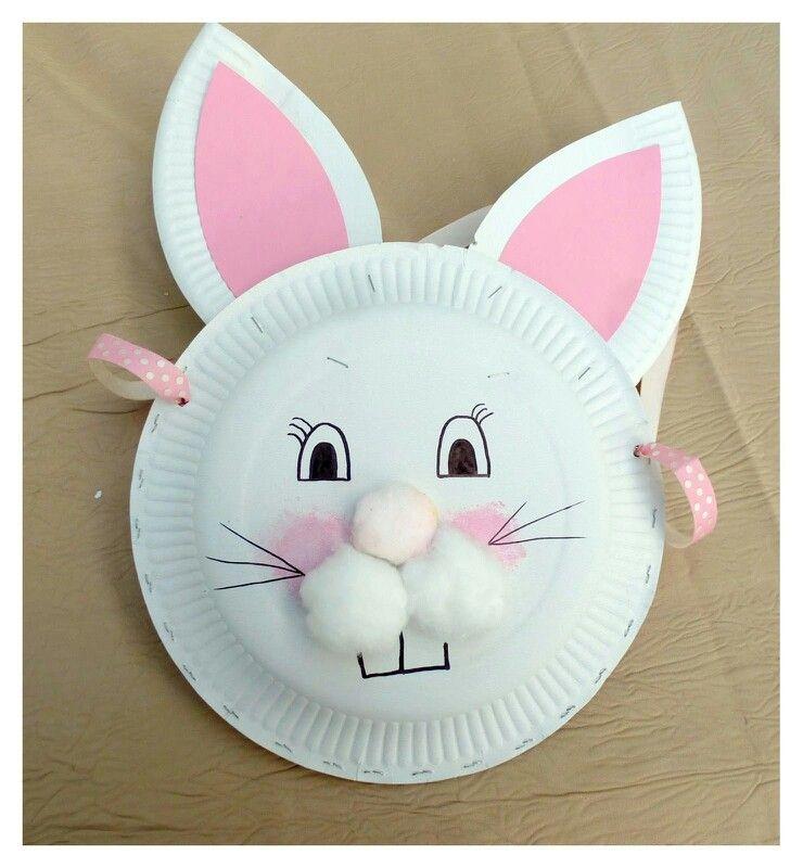 Épinglé par Lili Jevaisbiennet'enfaispas sur activités autour du lapin | Assiette carton ...