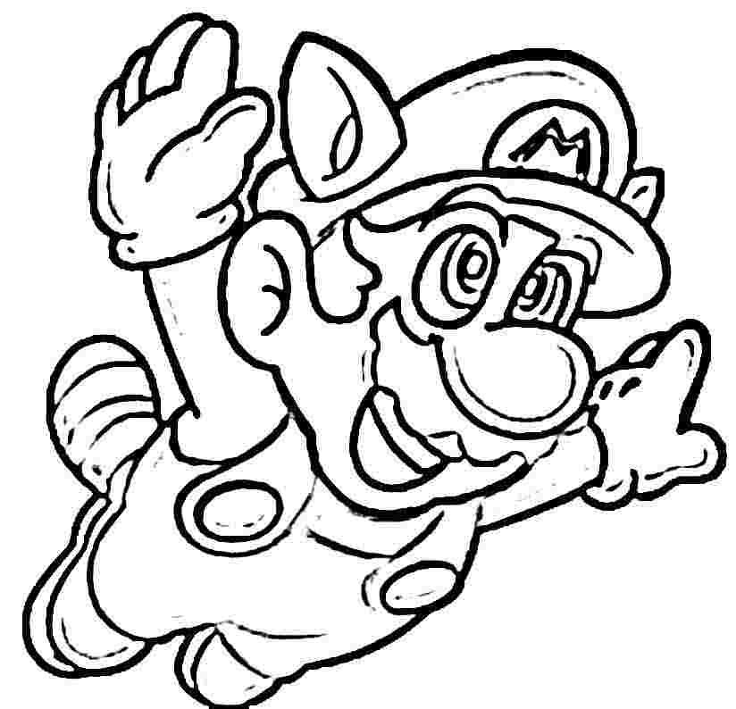 Download or print this amazing coloring page: MARIO BROS AND ...