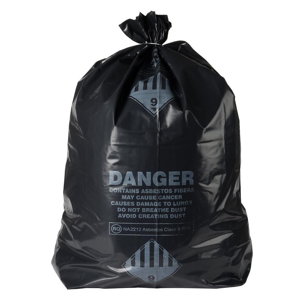 47+ Asbestos 6 mil bags