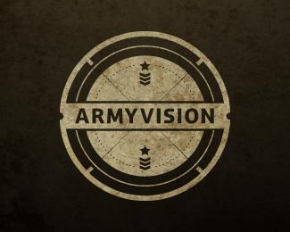 Army Vision Brandcrowd Logo Design Military Logo Design Military Logo