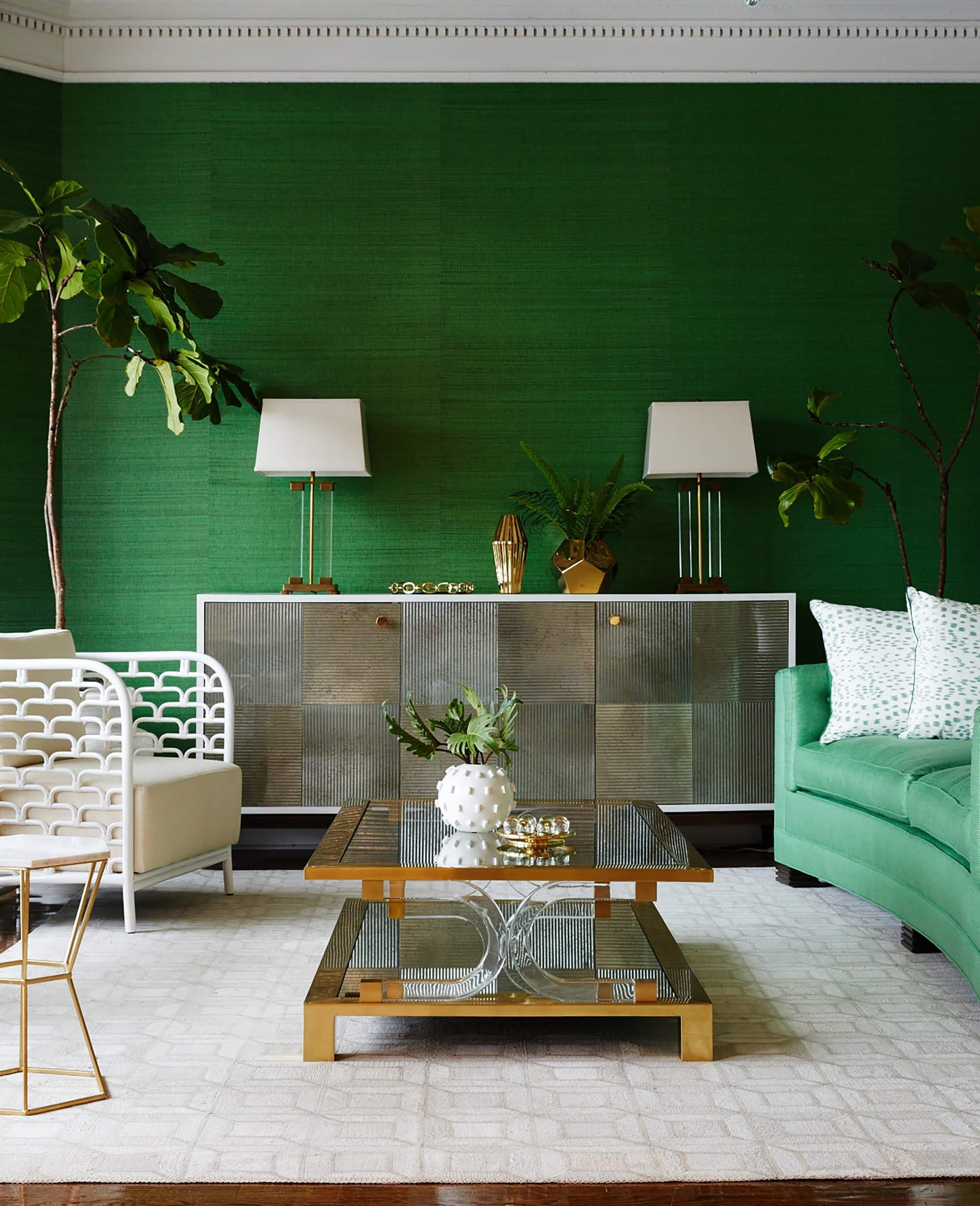 The Pinterest 100 Annual Report Predicts This Home Trend Will Be Big In 2020 Emerald Green Living Room Living Room Green Living Room Colors