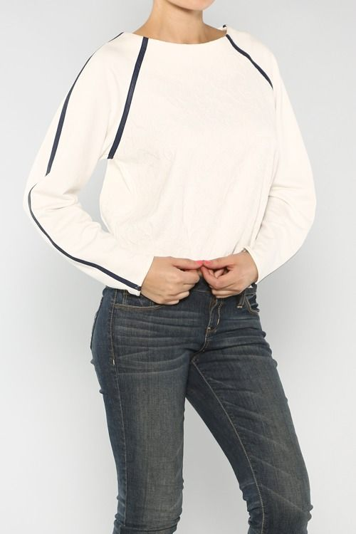 Embroidery Pullover Sweater #America #LaborDay #Summer #Fashion #Shop #Holiday #Summer #EndlessSummer #ootd #wiwt