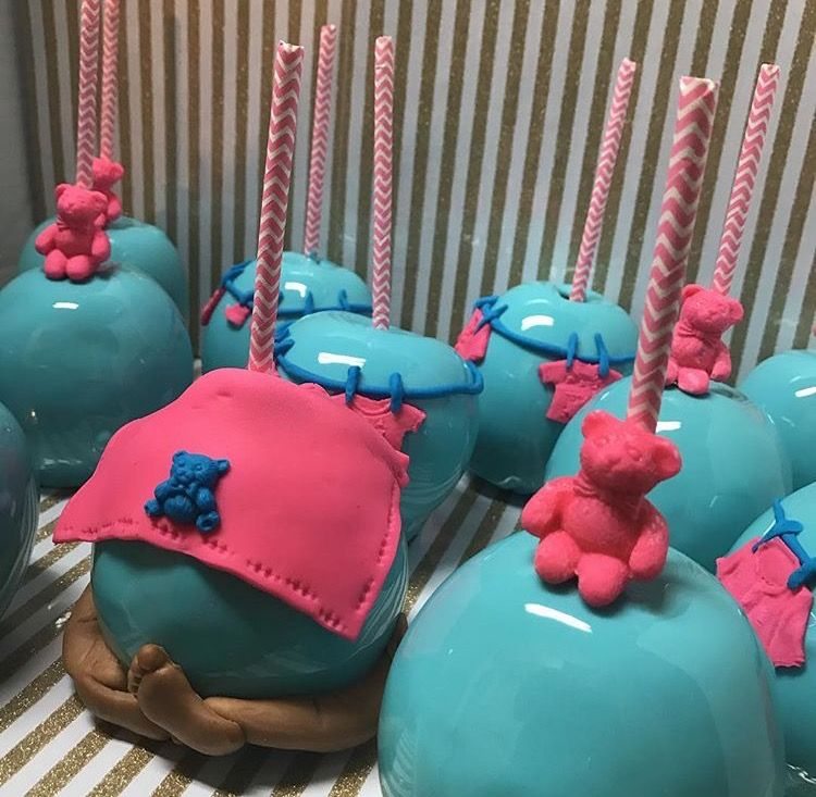 Baby Shower Candy Apples Candy Apples Pinterest Candy Apples