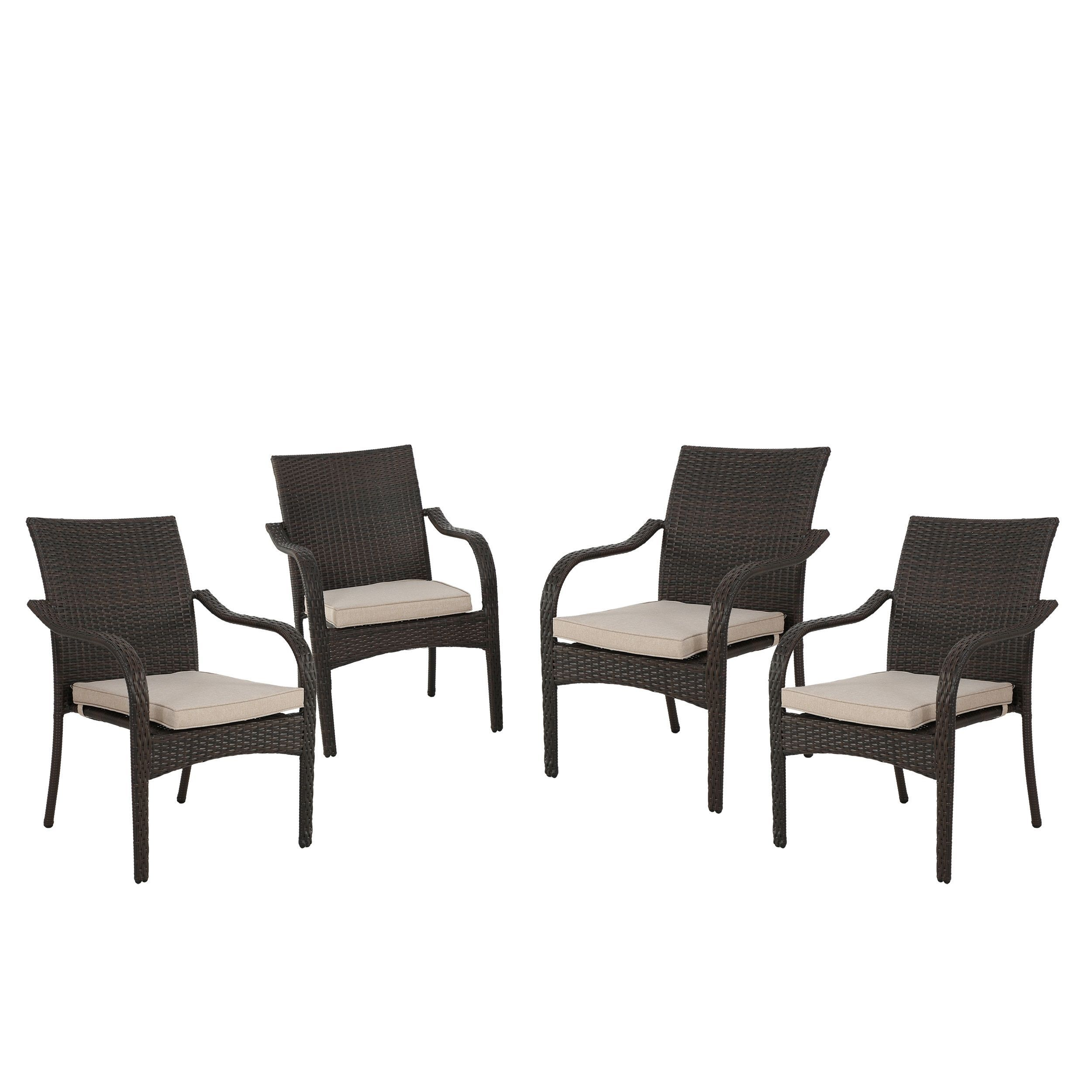 San Pico Outdoor Wicker Stacking Chairs