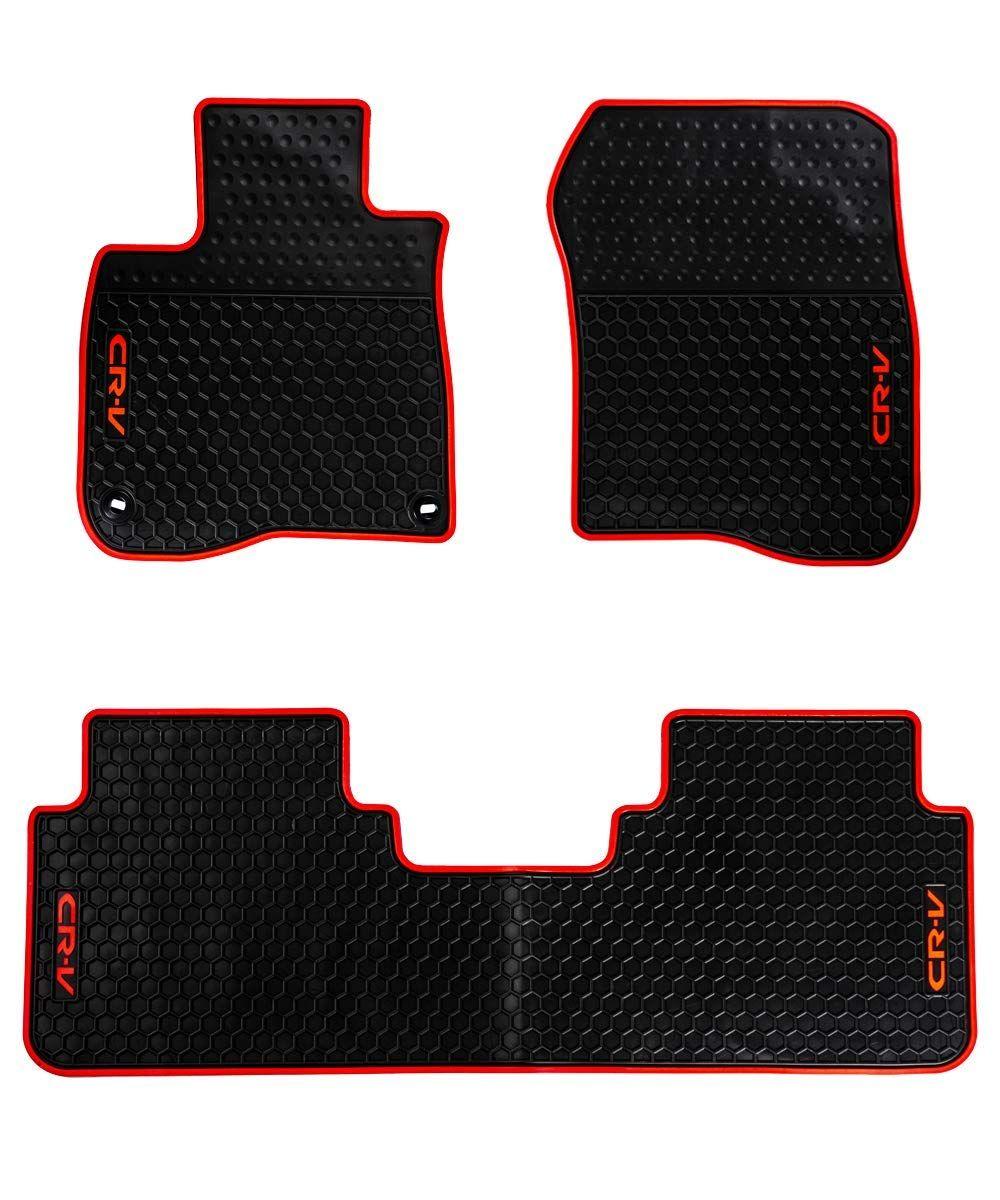 Hd Mart Car Floor Mats Rubber Black Auto Floor Liner Mat All Weather For Honda Cr V 5th Generation 2017 2018 Heavy Duty Odorless Price