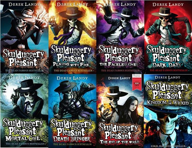 Skulduggery Pleasant One Of My Favorite Series I Still Have To