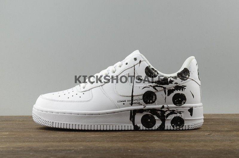 buy popular f161e cfaf0 Nike Air Force 1 Low X Supreme X Commes Des Garcon White Cdg White  923044-100 - Air Force - Nike