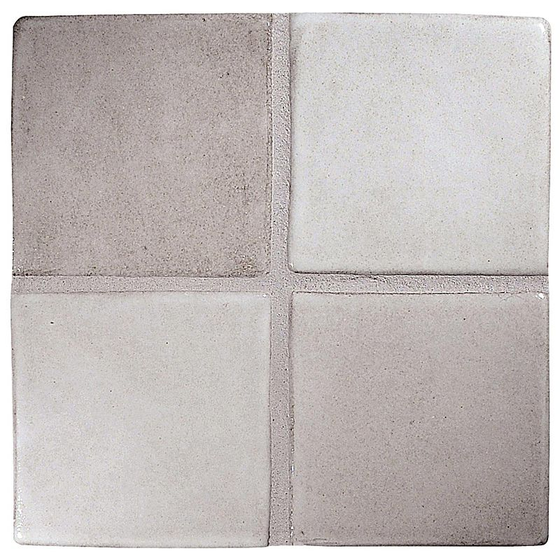 8x8 White Gloss Ceramic Tile
