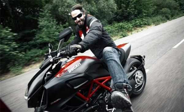 Keanu Reeves And The Ducati Diavel