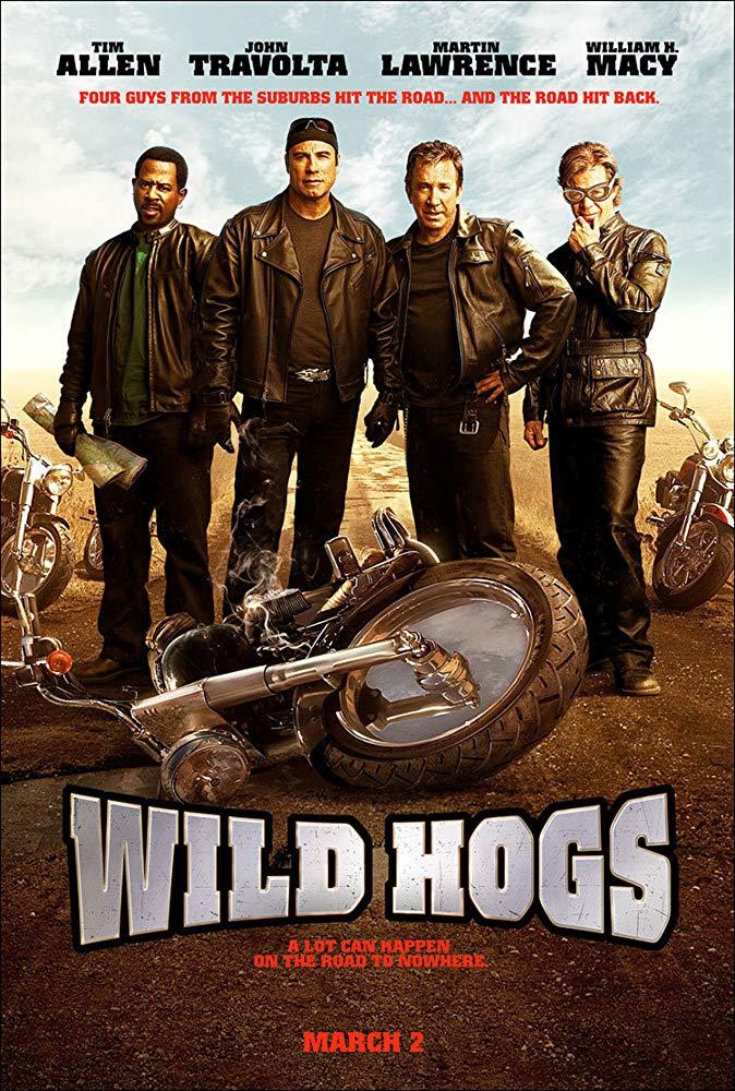 Wild Hogs 2007 Wild Hog John Travolta Comedy Movies