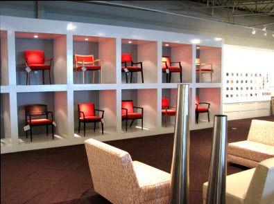 Chair Display Retail Furniture Luxury Patio Furniture Shop