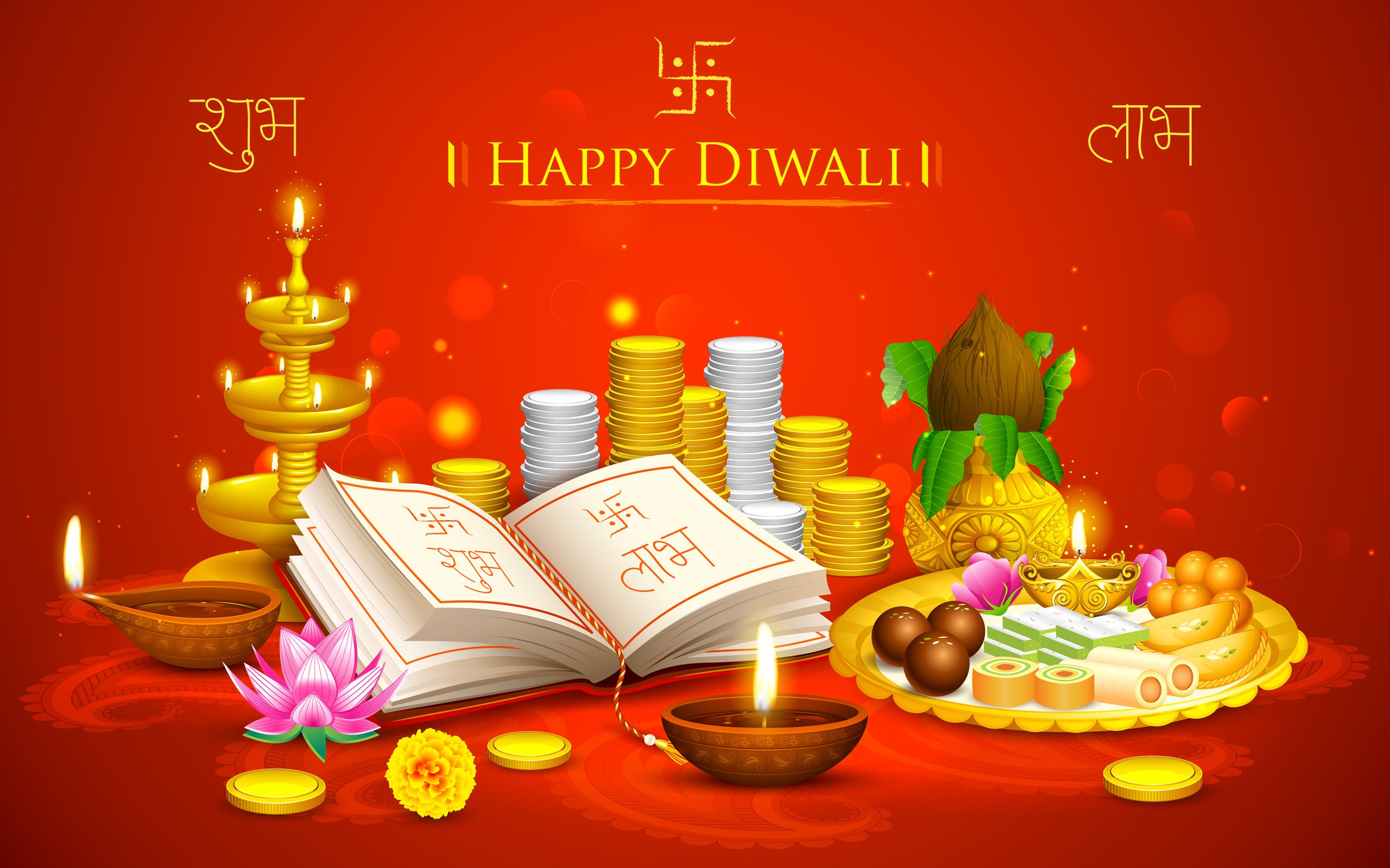 Happy Diwali And Dhanteras Wallpapers: Happy Diwali Hd Wallpaper Happy Diwali, HD, Wallpaper