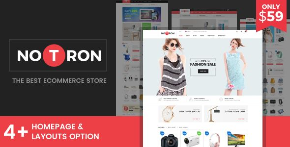 Notron - Responsive Magento Theme | Template and Website